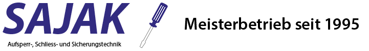 SAJAK Schlüsseldienst Logo